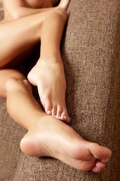 female feet and legs