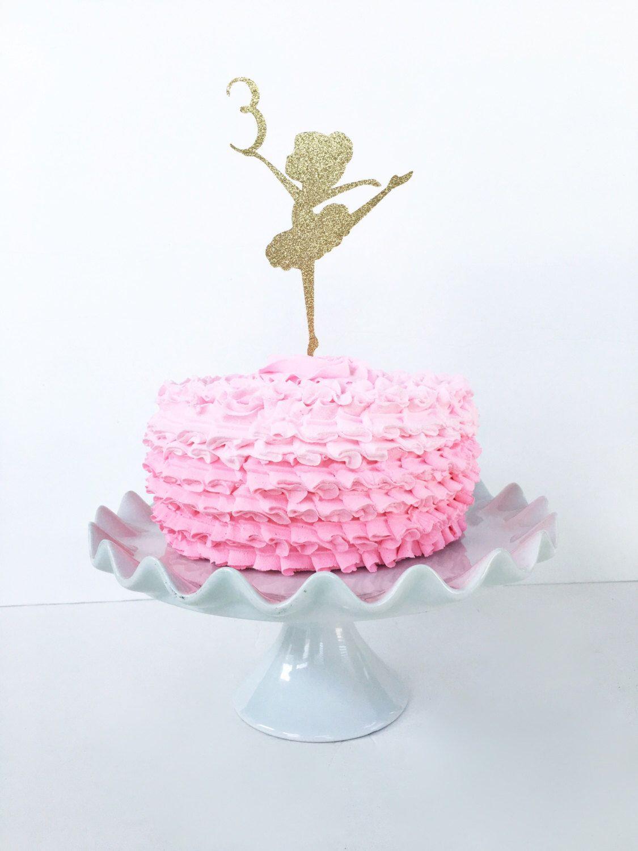 Admirable Ballerina Theme Birthday Party Ballerina Birthday Party Cake Birthday Cards Printable Opercafe Filternl