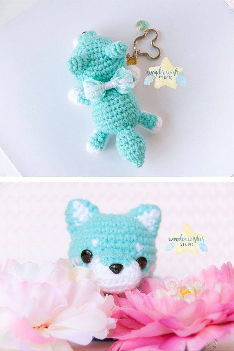 Crochet Pattern: Wolf Dog Amigurumi Plush | Crochet patterns ... | 1200x800