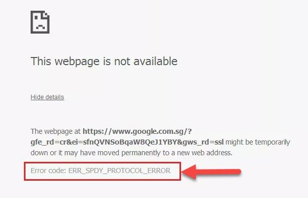 """In this tutorial, learn how to fix error """"This webpage is not"""