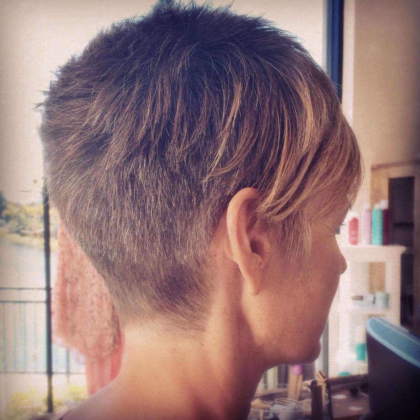 Disconnected, Pixie Cut.