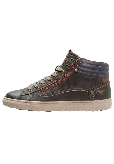 Mustang High-top trainers - mokka for