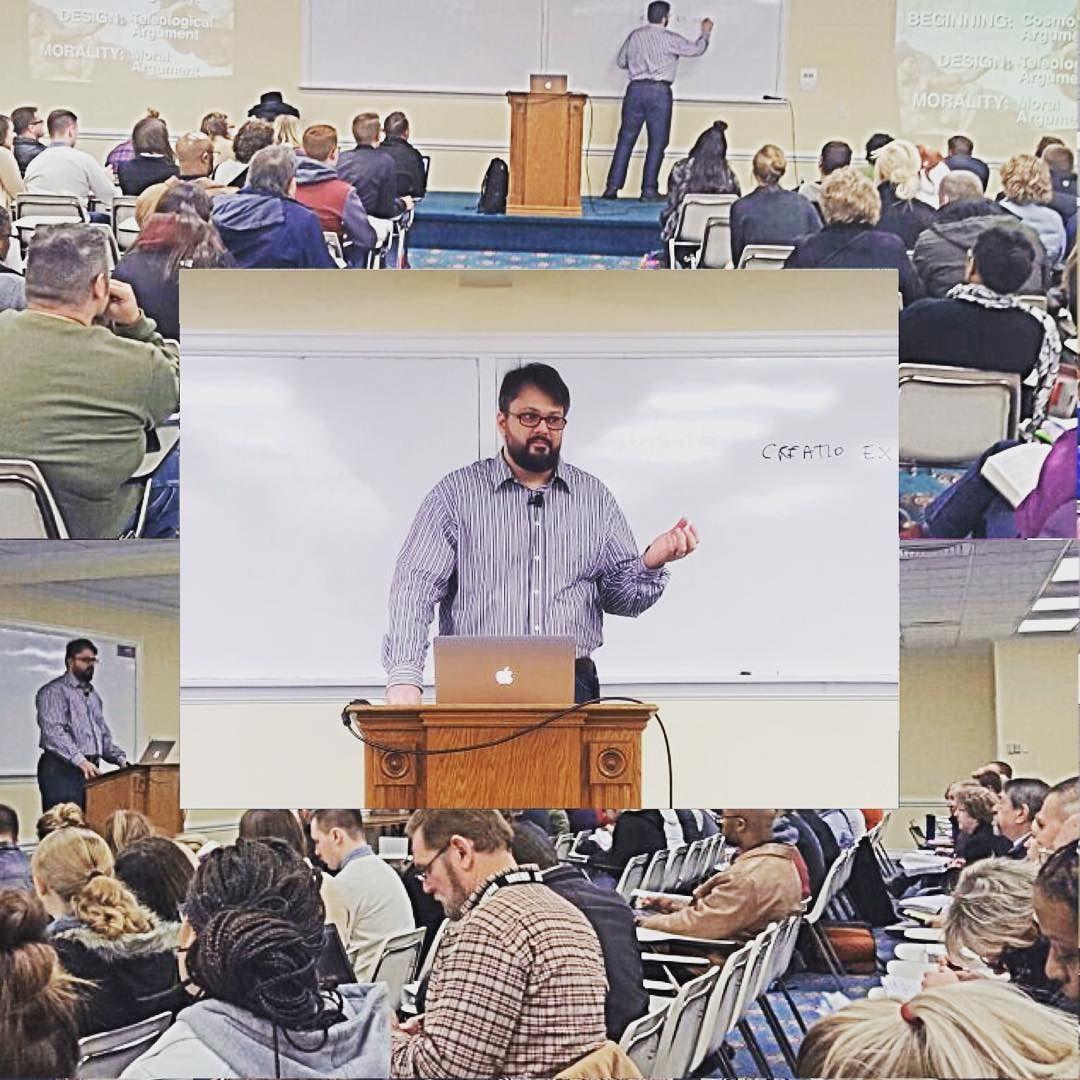 #Faith and #Reason - teaching #apologetics at #Rhema #Bible Training #College #Tulsa #USA.  #Fé e #Razão - Ensinando apologética na Faculdade Bíblica #RHEMA #Estados #Unidos.  MDFé - Ministério Defesa da Fé