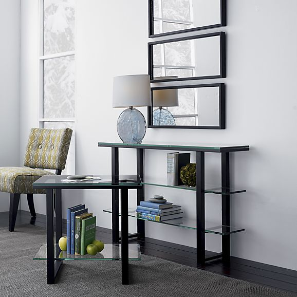 Mix Console Table From Crate And Barrel.