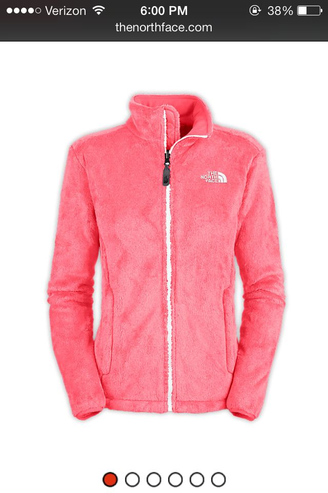f87841ae43 Northface jacket in coral ... Love the color !! (  an size Large so I can  wear scarves and sweater underneath it