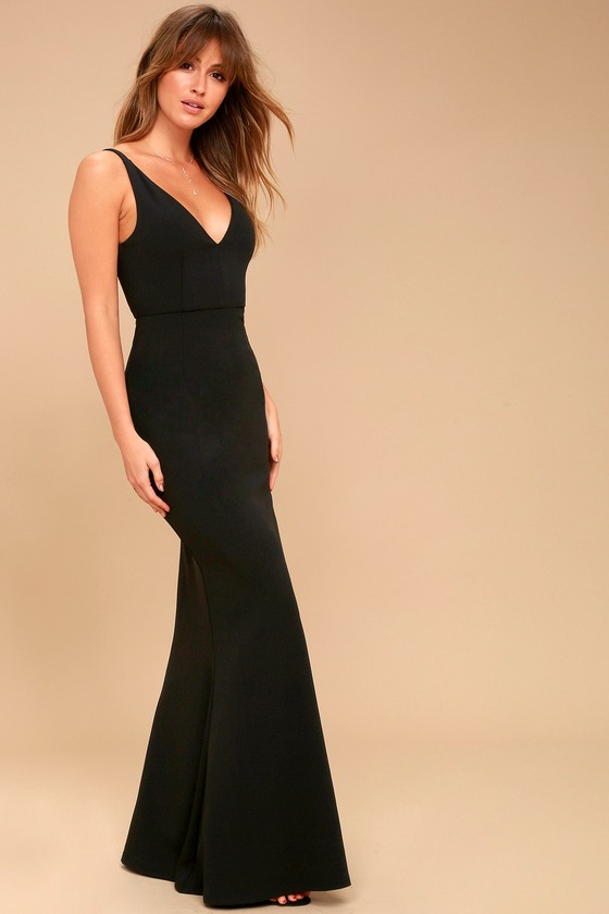 Lulus | Melora Black Sleeveless Maxi Dress