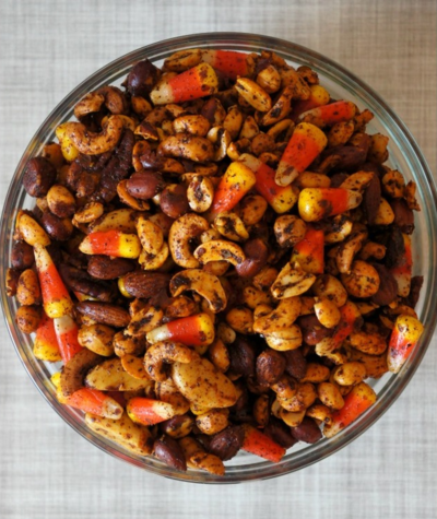 Heres An Easy Halloween Party Mix Recipe You Can Make In Your Slow Cooker This