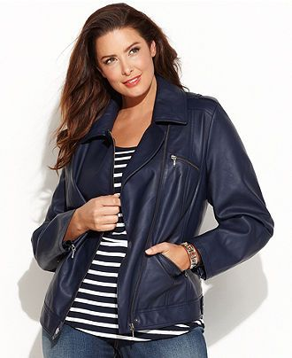 f27eb11314e INC International Concepts Plus Size Jacket