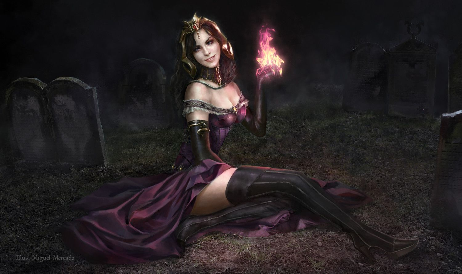 Liliana Of The Veil Promo