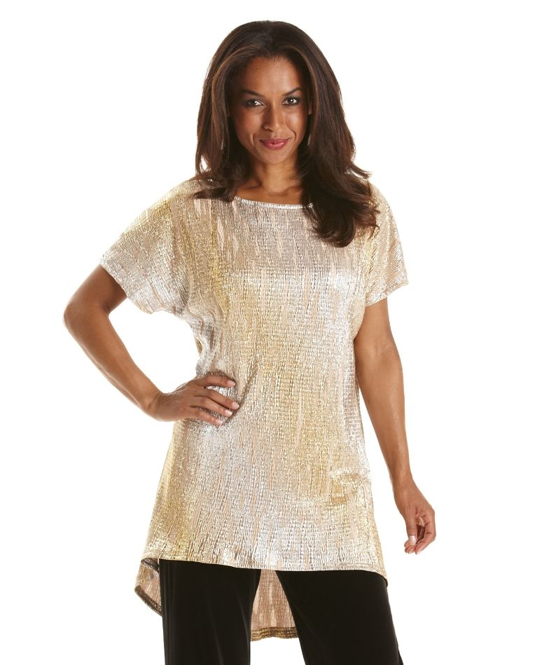 Womens Joanna Hope Lace Tunic Simply Be