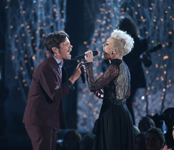 P!nk and Nate Ruess.