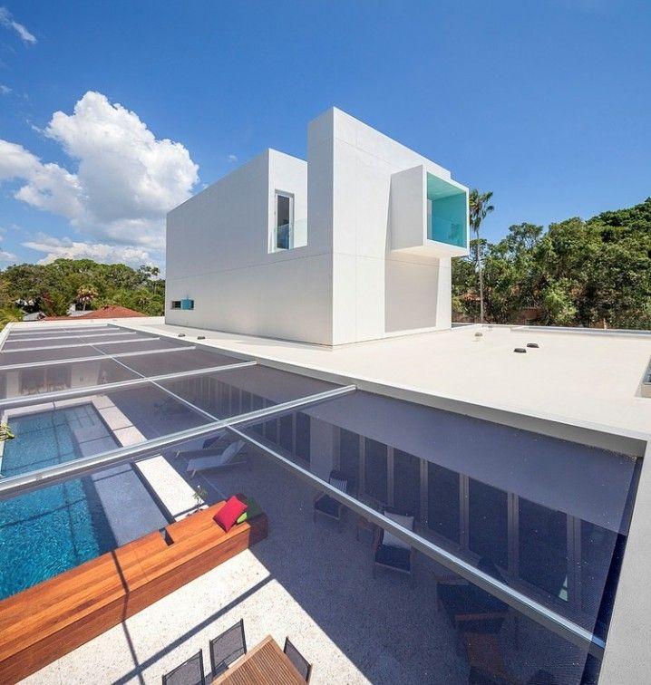 Maison contemporaine en Floride crée par Guy Peterson | dach ...