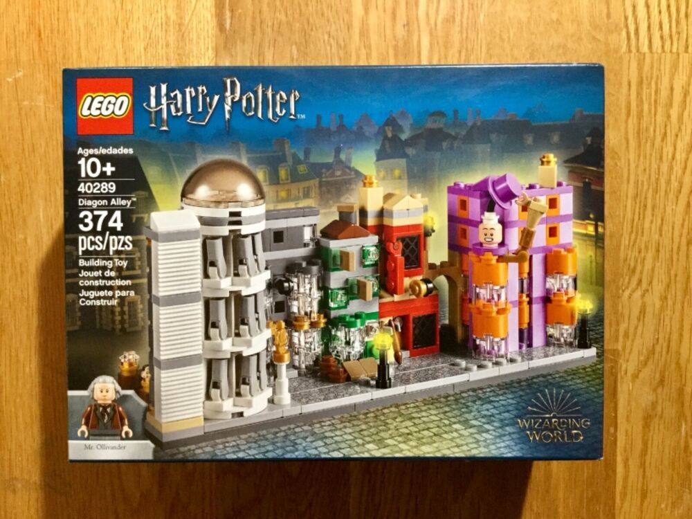 LEGO Diagon Alley new factory sealed Harry Potter set 40289