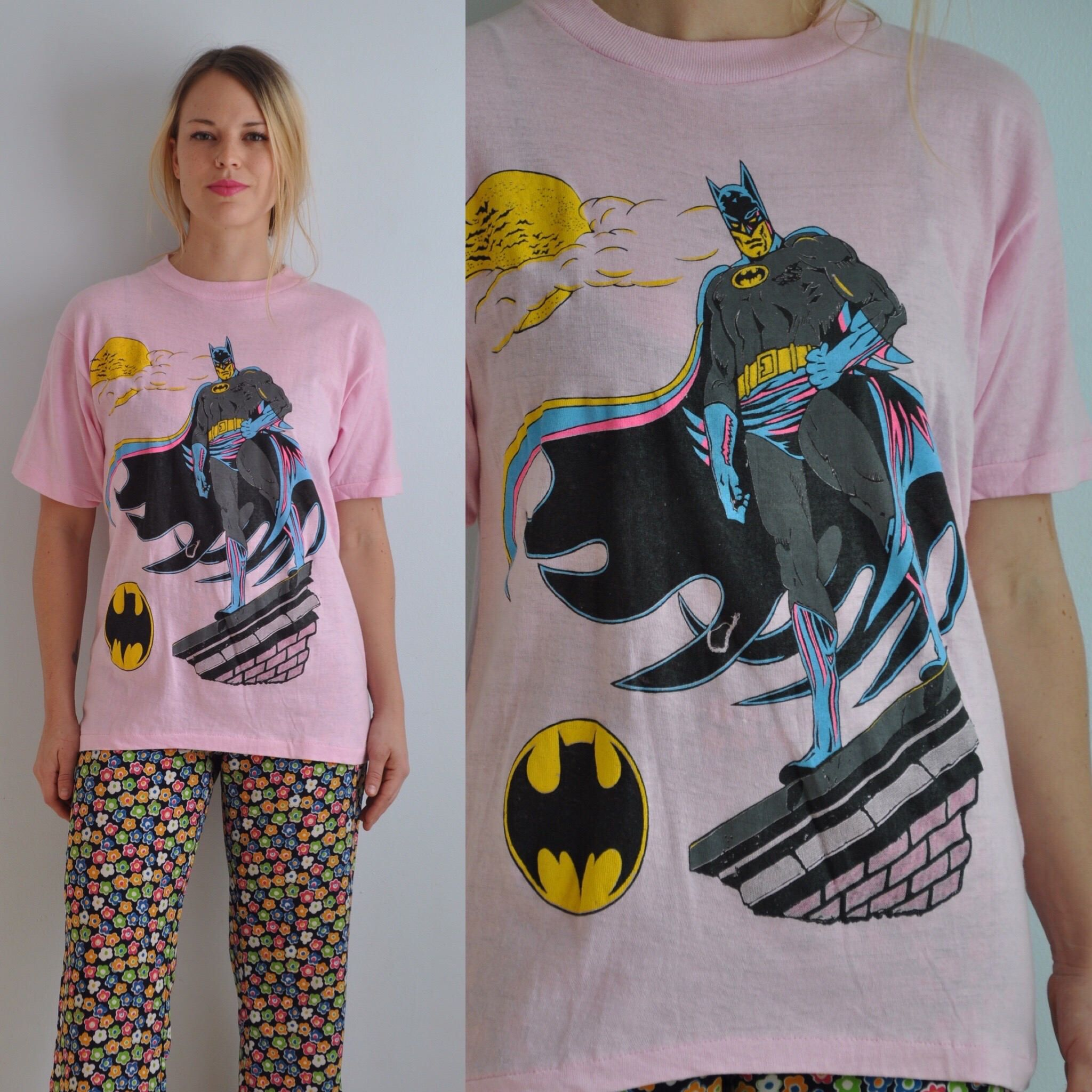 92a7d7928b6bb Pin by lynelle fowler on vintage tees   Batman t shirt, Batman shirt ...