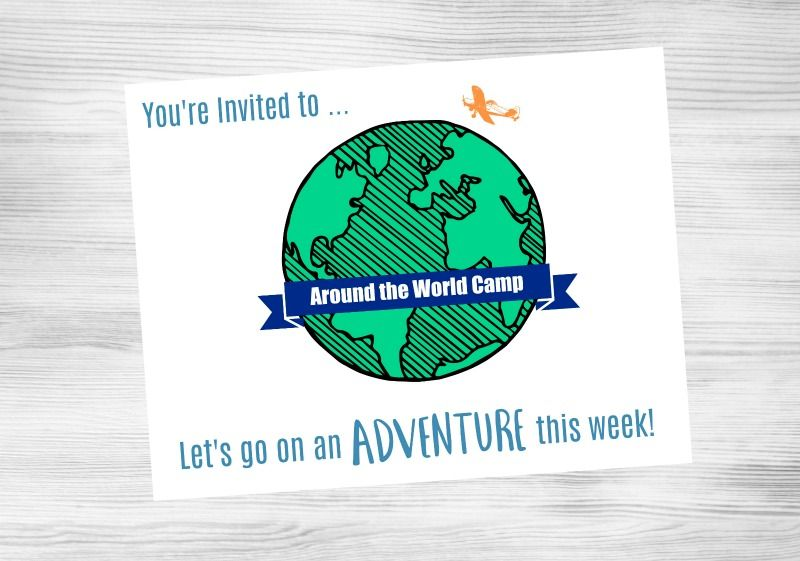 17 Around The World Activities For A Diy Summer Camp Summer Camps For Kids Summer Camp Themes Summer Learning
