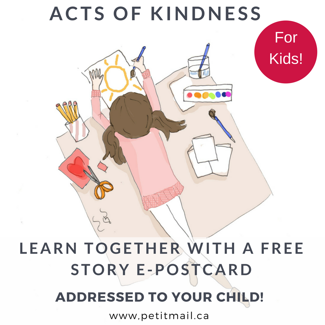 Acts Of Kindness For Kids Free Story Sent As An E