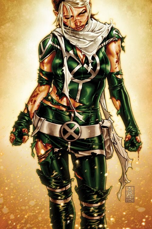 X Men Legacy Rogue Has To One Of My Favorite Mutants Of Marvel Marvel Rogue Comic Illustration Comics Girls