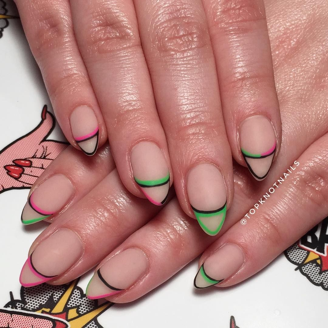 40 Coolest Nail Art Ideas For Spring And Summer Cute Acrylic