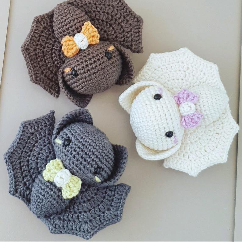 Gallery Bat crochet pattern   amigurumi bat pattern   crochet bat   bat amigurumi   baby bat pattern   halloween crochet pattern is free HD wallpaper.