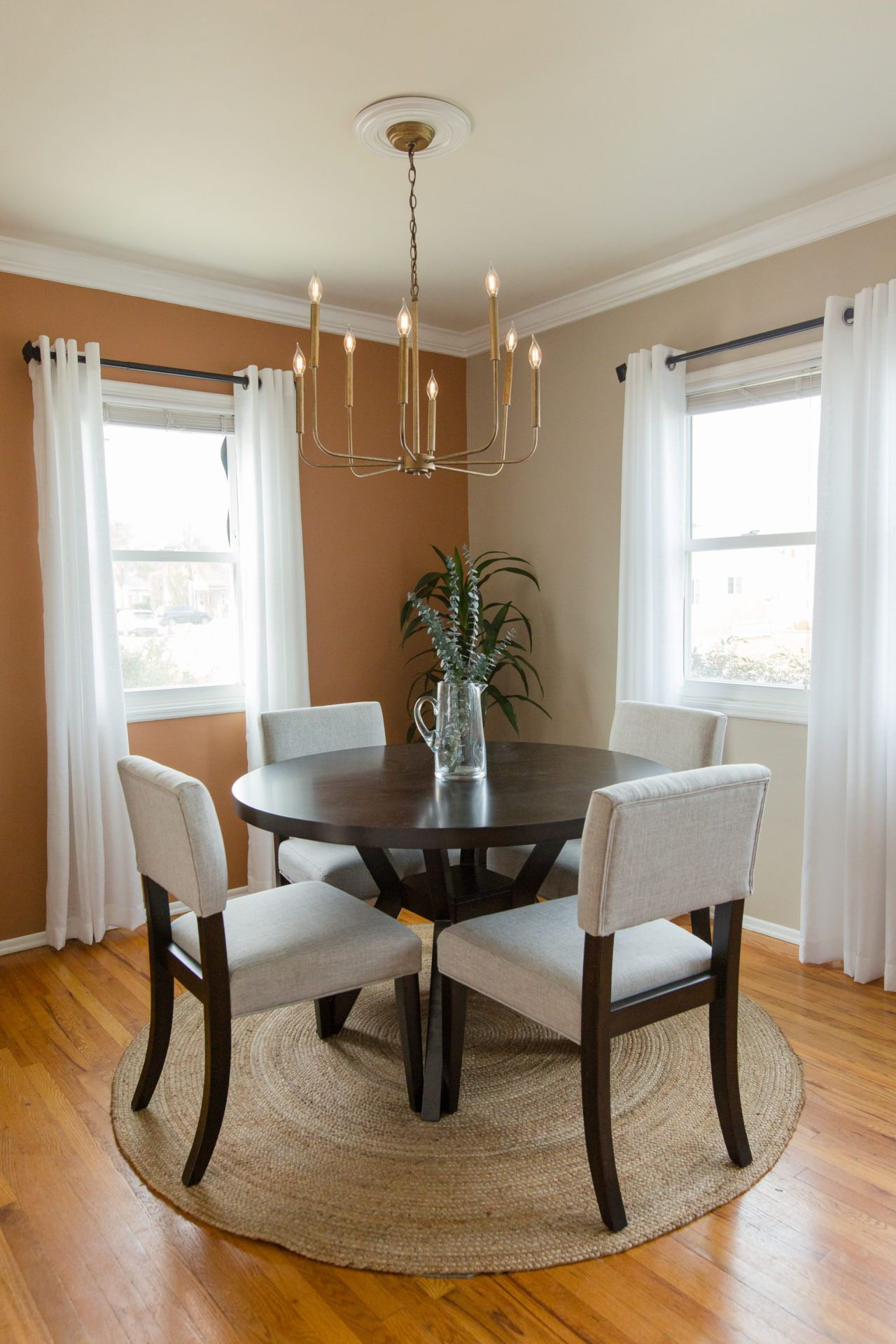 We Use All Of The 2020 Color Trends To Decorate A Room In 2020 Living Room Orange Dining Room Paint Colors Dining Room Colors #statement #wall #living #room