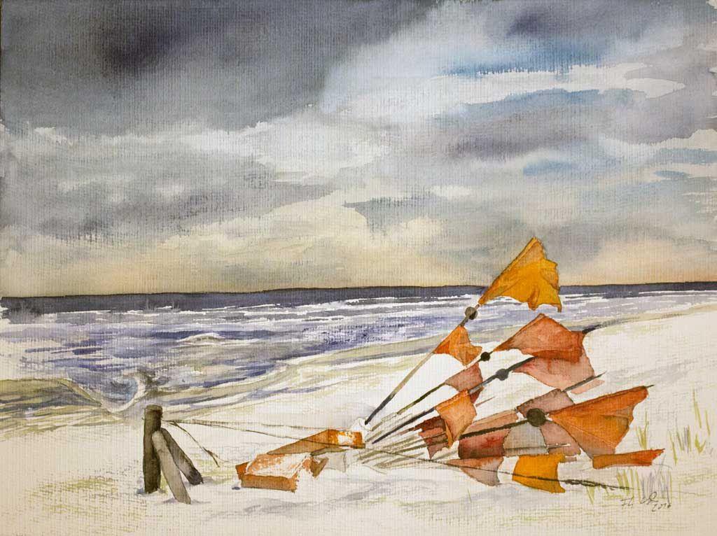 Der Winter an der Ostsee bietet herrliche Motive