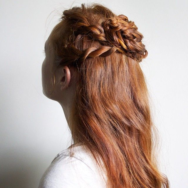 Silvousplaits Hairstyling On Instagram Cersei S Rope Braid Half Up In S2e6 The Old Gods And The New A Tutorial For Hair Styles Braided Hairstyles Hairstyle
