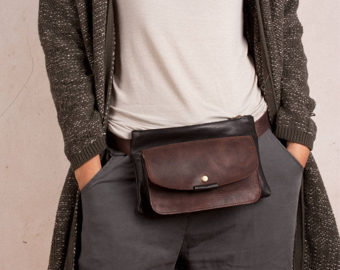new cheap beauty separation shoes Leather Hip Bags, fanny pack, belly bag | sac cuir | Leather ...