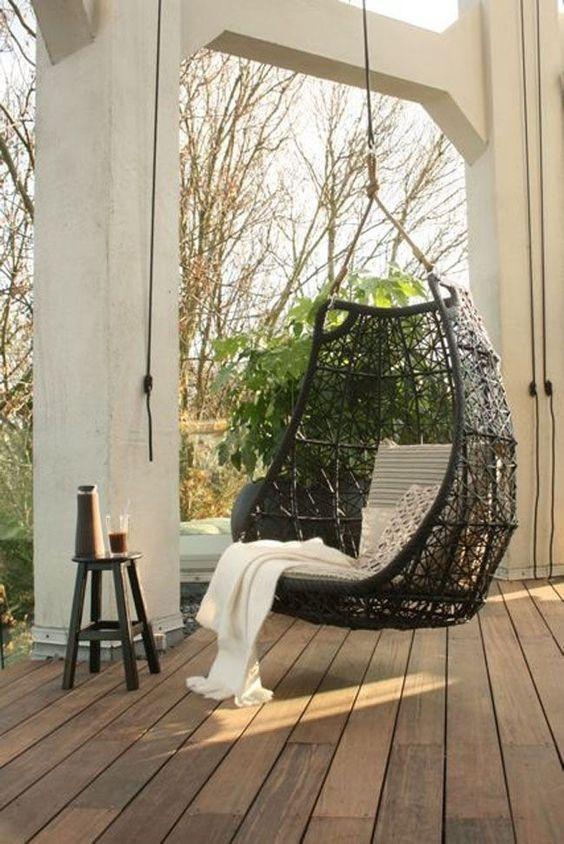 Muebles exteriores para el relax decorar tu casa es decoraci n columpios de - Columpios para casa ...