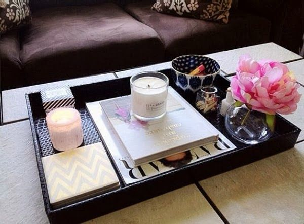 belle maison: Five Ways to Style Your Coffee Table