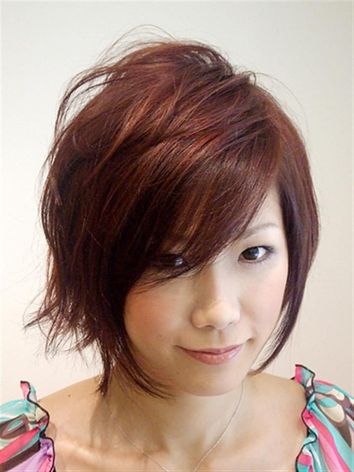 Woman S Guide Asian Romantic Long Hairstyles For Round Faces That Boost Your Beauty Short Hair Styles For Round Faces Hairstyles For Round Faces Short Hair Styles 2014