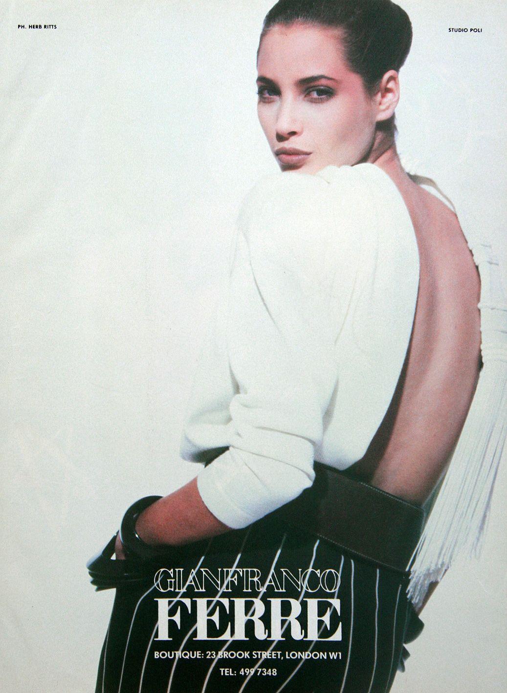 Gianfranco Ferré   Spring 1987