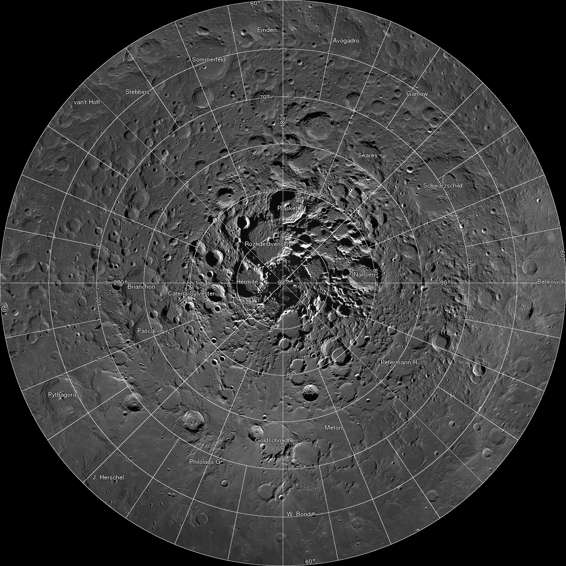 NASA Releases First Interactive Mosaic of Lunar North Pole | NASA