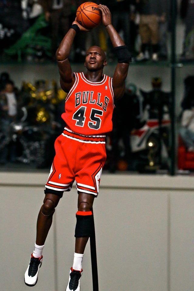 huge selection of 5e73f 54521 Enterbay MJ #45 | Enterbay NBA | Sports, Nba, All star