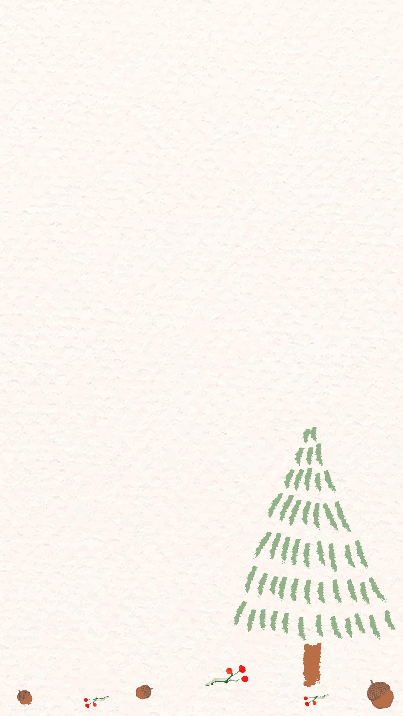 Download Premium Vector Of Christmas Mobile Phone Wallpaper Vector 1228225 Wallpaper Vector Cute Christmas Wallpaper Phone Wallpaper Cute christmas phone wallpaper