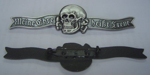 German Waffen Panzer Knight Tank Army Battle War Officer Skull Medal Pin by Oshi Regalia. $19.99. Panzer Officer Skull Dress Pin  For your pleasure I am offering this Reproduction symbol of the Panzer units.  In original form these pins would be in the many hundreds of dollars. Now you can get it at a fraction of the cost.   Heads will turn and eyes of envy will look upon you as they see this skull.  Free Shipping in USA ONLY Get this prized item for one bid and enjoy a lif...