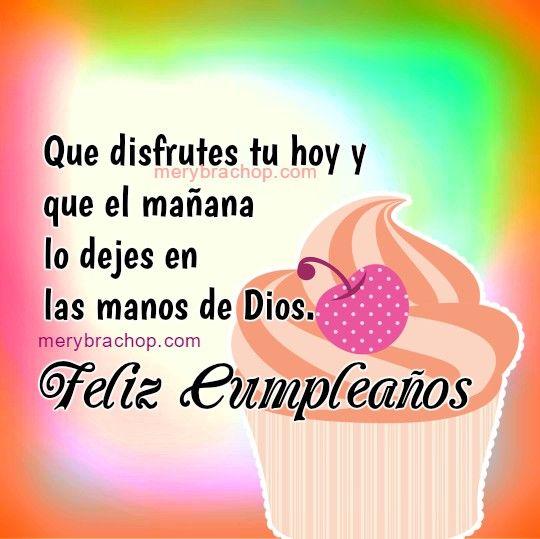 Imagen Cristiana Frases Feliz Cumpleanos Feliz Cumpleaños