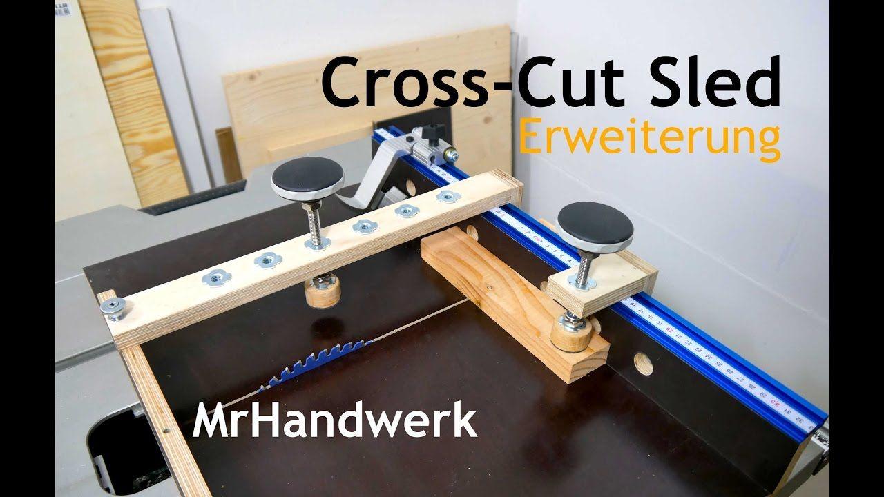 cross cut sled - erweiterung - schiebeschlitten für die
