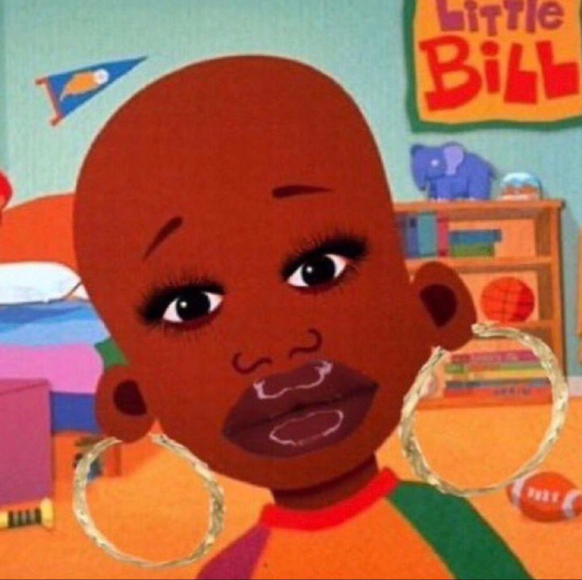Little Bill In 2020 Funny Memes Images Funny Profile Pictures Funny Profile