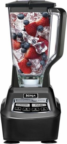 Ninja - Mega Kitchen System 72-Oz. Blender - Black ...