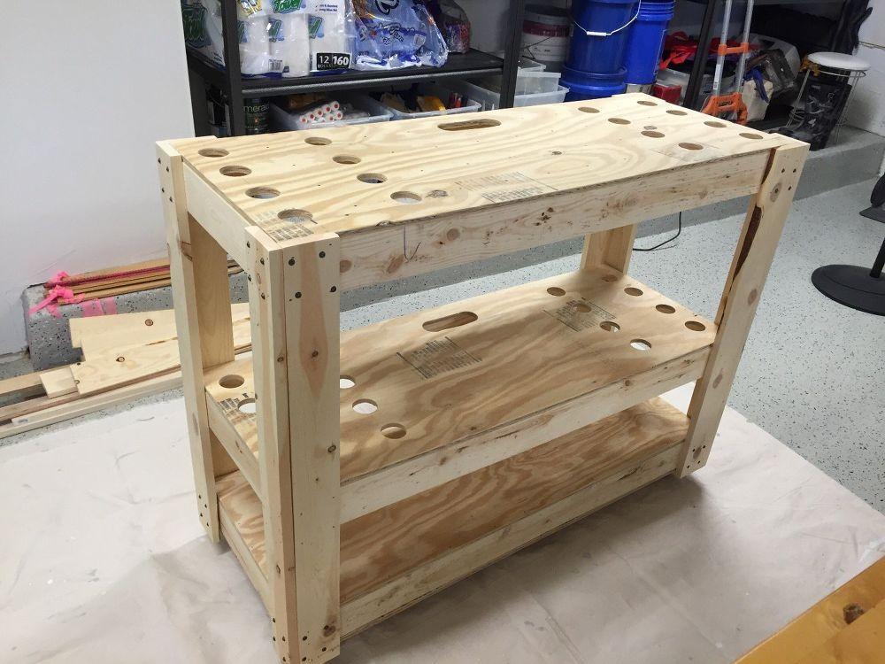 Rolling Garden Tool Cart in 2020 Tool cart, Diy storage