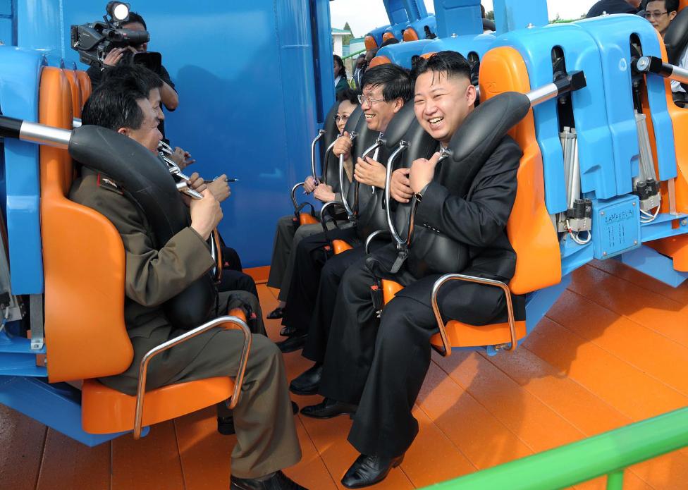 Glorious Leader Kim Jong Un Triumphantly Cavorts In Joyful Dolphinarium North Korea Facts Inside North Korea North Korea