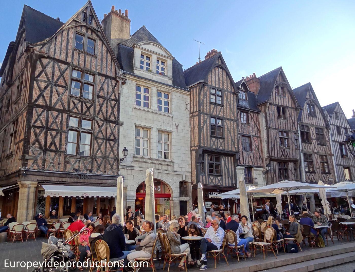 Place De Plumereau In Tours In France France Tourism Pinterest - France tours