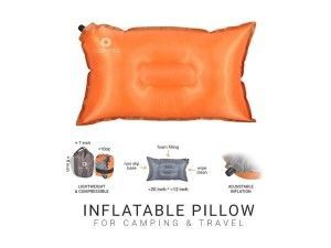 Inflatable Compressible Camping Pillow d15f83225