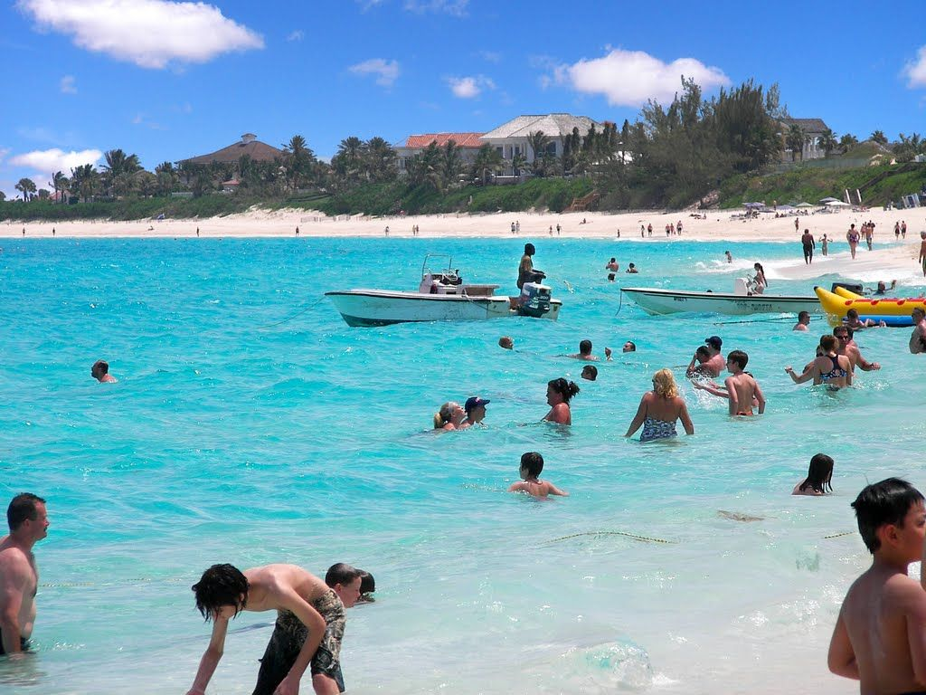 Cabbage Beach Nau Bahamas I Was There On 1 6 15 Beautiful