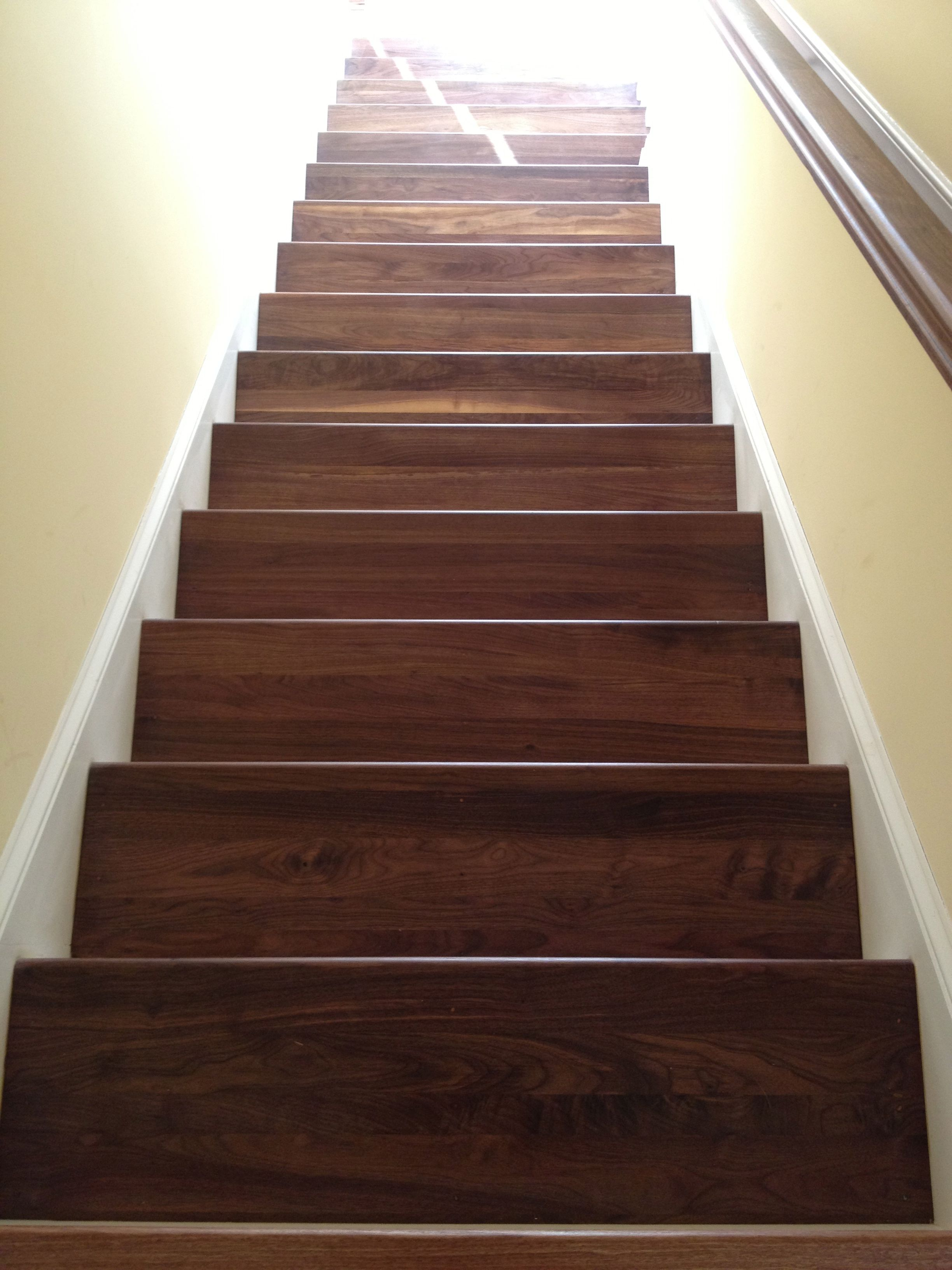 Best Walnut Stair Treads With Images Stairs Timber Framing 400 x 300