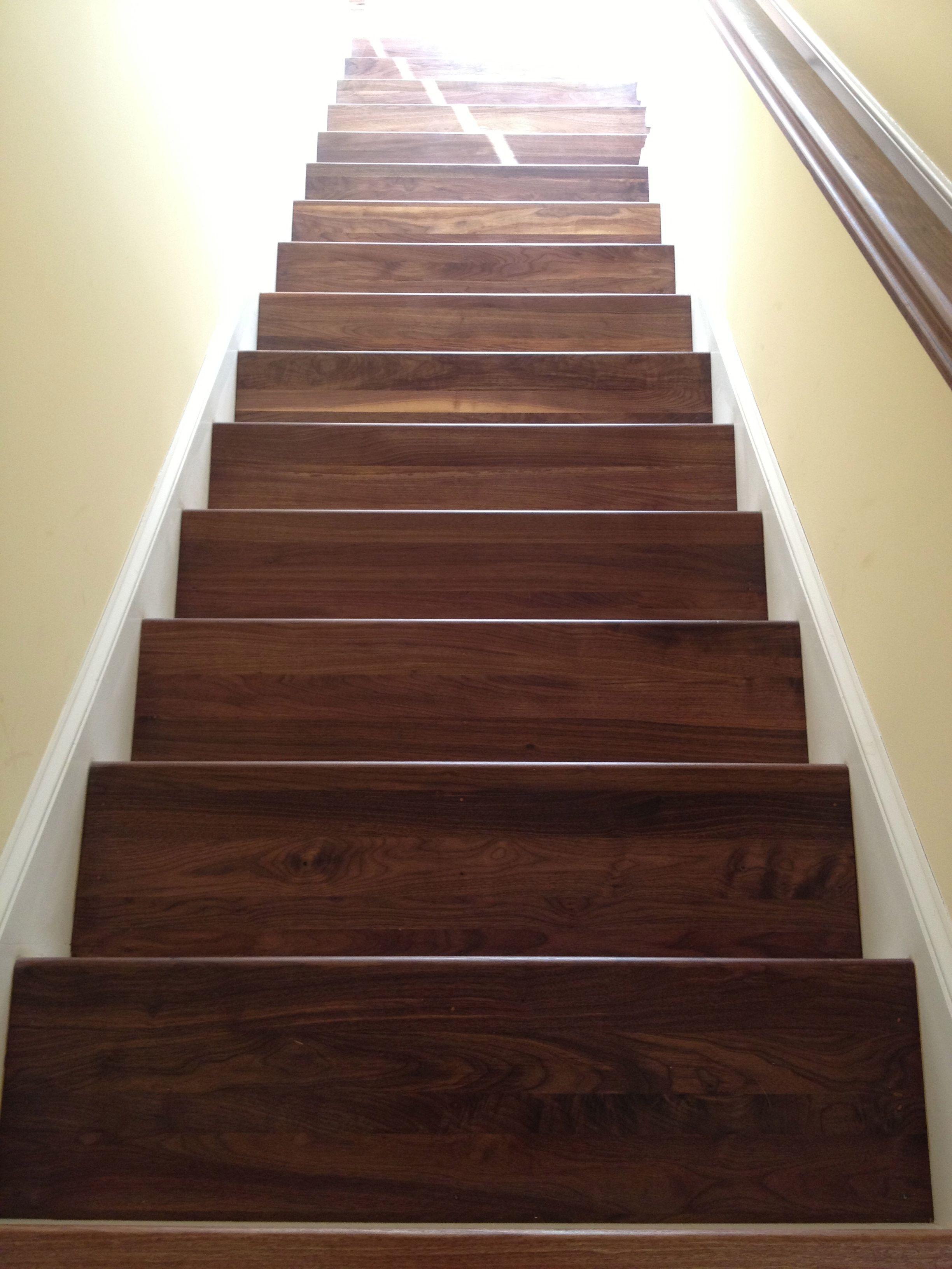 Great Walnut Stair Treads