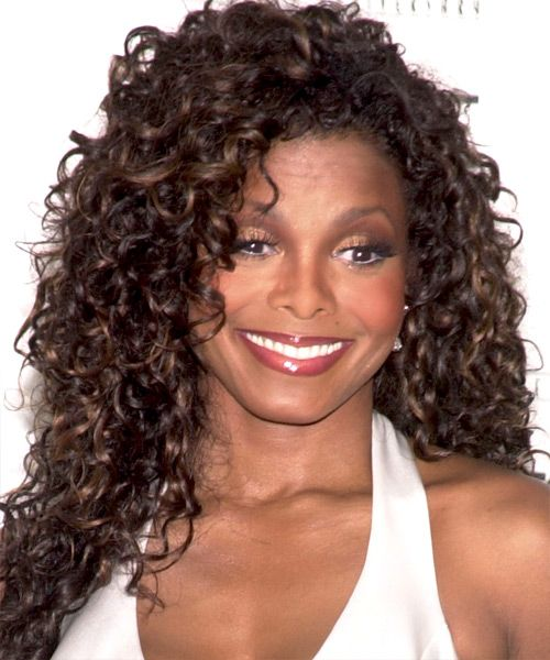 Janet Jackson Hairstyles And Haircuts Janet Jackson Curly