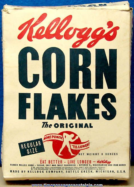 Image result for CORN FLAKES 1950S