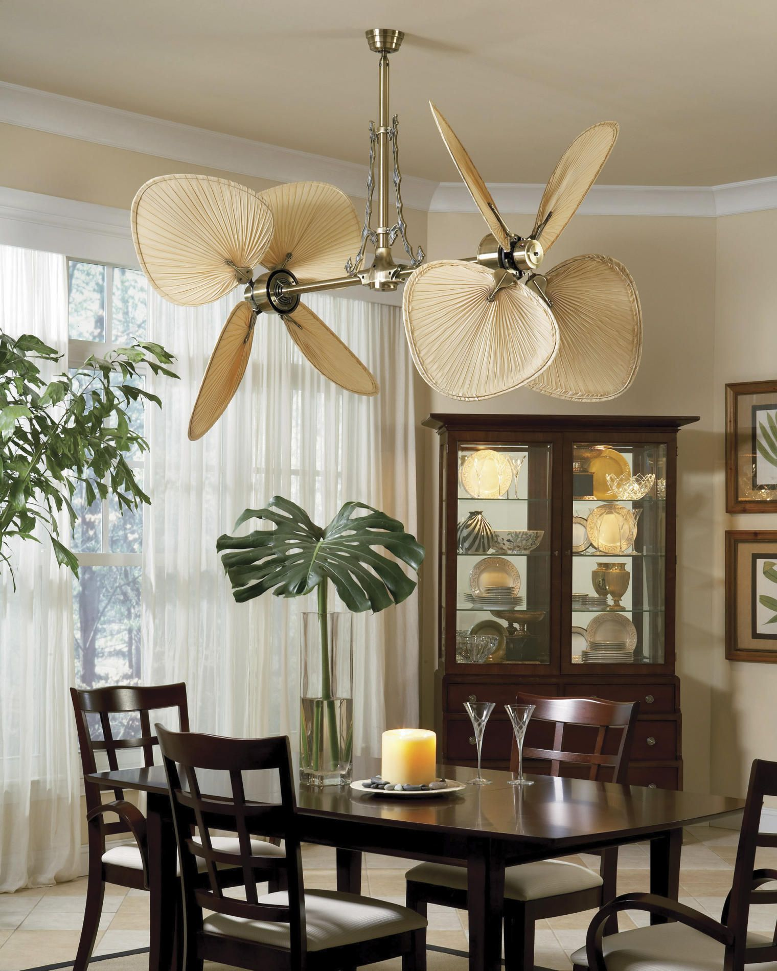 Bamboo Ceiling Fan Covers