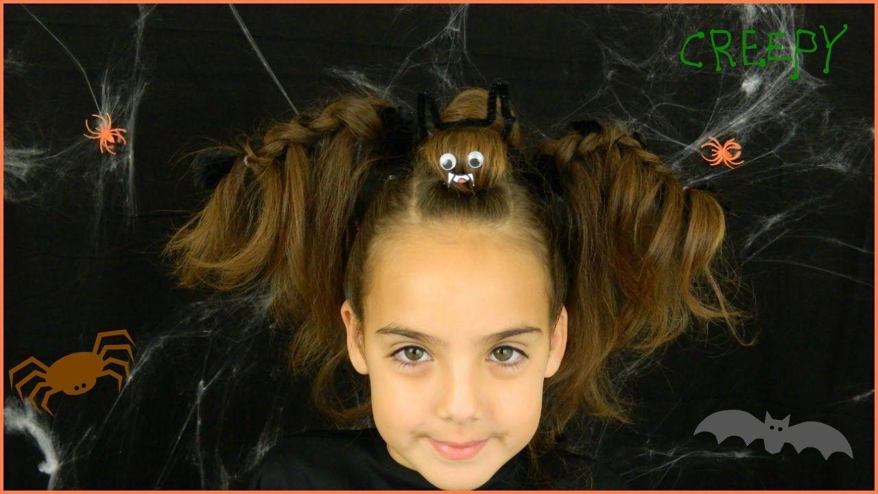 halloween bat hairstyle / best halloween hairstyles / bonita